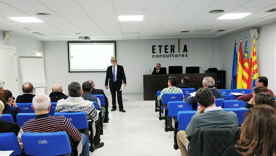 evento empresarial eteria consultores elche enero gestion comercial